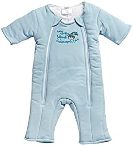Baby Merlin's Magic Sleepsuit Cotton-Blue-3-6 months