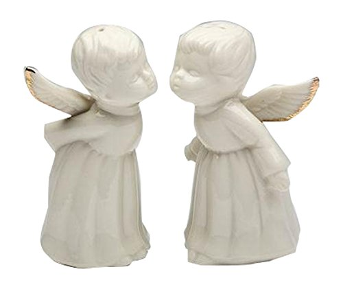 Kissing Angels Trimmed Pepper Shakers product image