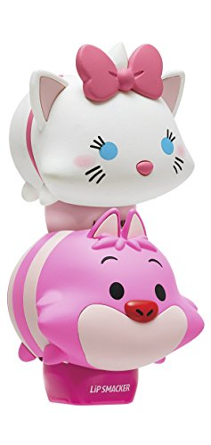 Lip Smacker Disney Tsum Tsum Lip Balm Duo, Marie Love In Pear-Y/Cheshire Cat Plumberry Wonderland, 2 Count