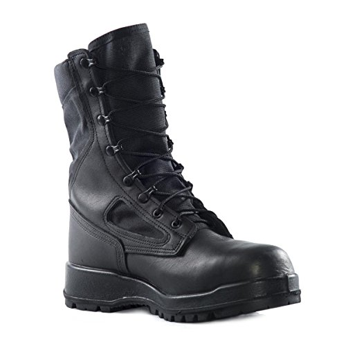 Belleville Men's 300 TROP ST Hot Weather Steel Toe Boot, Black - 12R (Steel Grinders Toe)