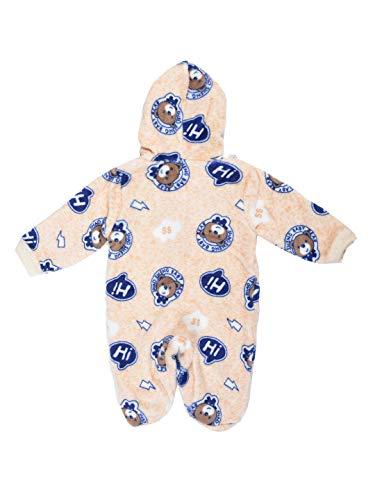 ADRIEL Bringing Joy® New Born Baby Hooded Woolen Winter Romper or Body Suit (0-3 Months)