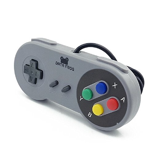 Royale Royale Collection Wall (Nentendo joystick Retro Super for Nintendo SNES USB Controller for PC for MAC Controller)