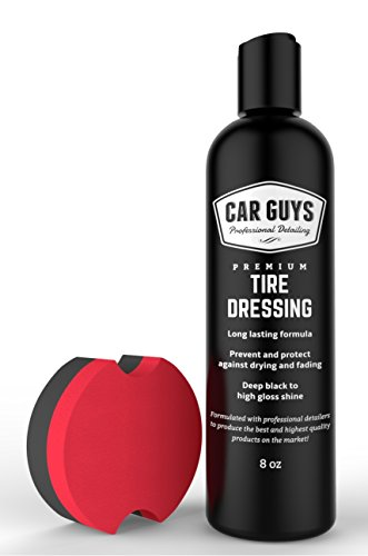 Plastic and Trim Restorer - Darken, Shine and Protect faded Rubber, Vinyl and Plastic - Trim Restorer and Tire Black - Includes Foam Tire Shine Applicator - Tire Dressing by - Trim Plastic Black
