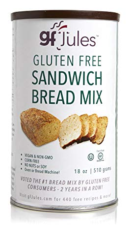 - gfJules Gluten Free Sandwich Bread Mix- Voted #1 by GF Consumers 1.11 lbs, Pack of 1