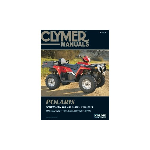 CLYMER M365-5 / Clymer Polaris 400, 450 & 500 Sportsman 1996-2013 by Clymer