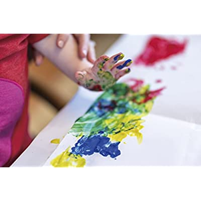 Crayola Washable Bright Fingerpaint, Secondary Colors 3 ea: Toys & Games