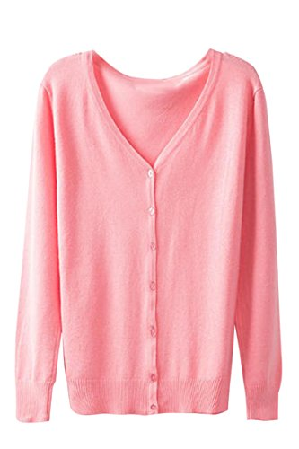 Sovoyant Womens Button Cardigan Sweater