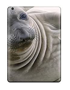 ChrisWilliamRoberson Scratch-free Phone Case For Ipad Air- Retail Packaging - Harp Seal Wallpaper