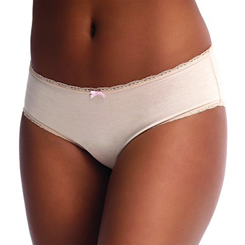 Anigan Reusable Pee-Proof, urinary incontinence Panty, Hypoallergenic, Anit-Odor (Beige, Large)