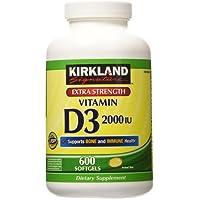 Costco 2000 IU Kirkland Signature Vitamin D3 Capsules