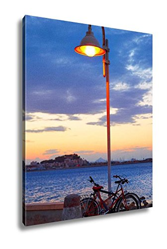 Ashley Canvas Denia Sunset Las Rotas In Mediterranean Spain Of Alicante, Wall Art Home Decor, Ready to Hang, Color, 20x16, AG5428069 by Ashley Canvas