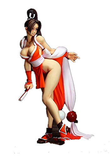 New Watch 28cm The King of Fighters XIII Mai Shiranui Action Figures PVC Brinquedos Collection Figures Toys No Box