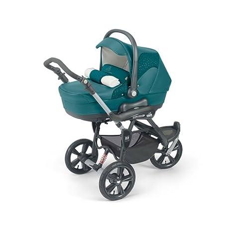 CAM Il Mondo del Bambino ART891 cortina X3 Tris Evolution Cochecito Verde 96/T521: Amazon.es: Bebé