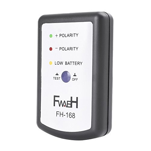 GZYF Auto Car Audio Speaker Polarity Tester FH Phase Meter Phasemeter Black