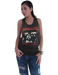 Women's Metallica Concert World Tour Rock T-Shirt Tank Top Vest