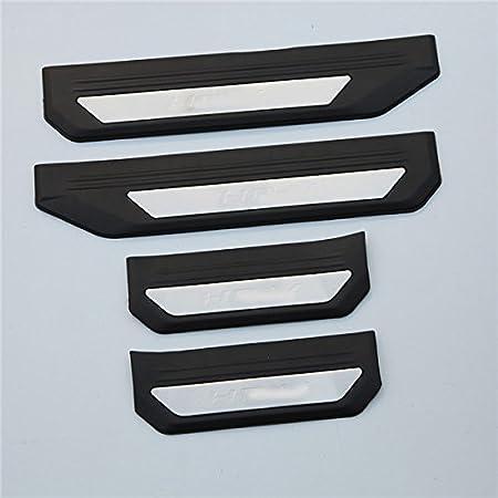 OLIKE For Honda HR-V HRV 2015 2016 2017 2018 Fashion Style Car Door Sill Scuff Plate Entry Guard Protector Trim