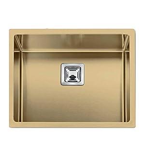 SERIES304 Kitchen Sink, Gold, Matte Finish