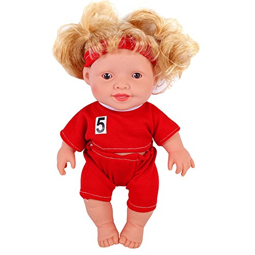 The 2018 Movable Joint Doll Best Gift Toy Red
