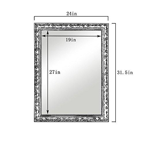 Cheap Large Makeup Vanity Wall Mirror Hans Amp Alice 32 X24