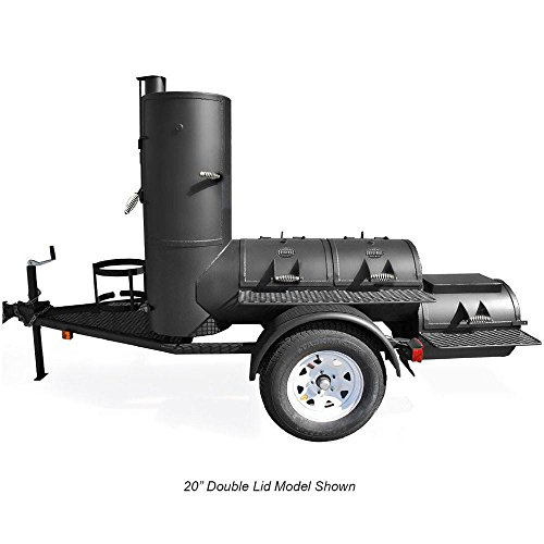 Portable Pearsall Smoker - Trailer Mounted (Bbq Smoker Trailer)