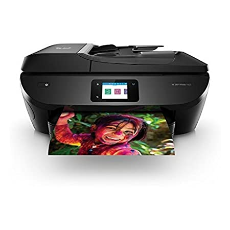 HP Envy 7855 Wireless Color Photo Printer with Scanner & Copier and 64XL Tri-Colour Ink