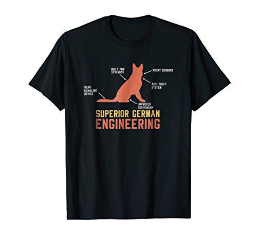 - German Shepherd T-Shirt: Superior German Engineering