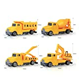 Kaimu 1:60 Construction Inertia Engineering Vehicle Kids Alloy Model Toy Push & Pull Toys