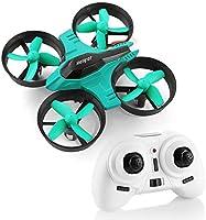 HELIFAR Mini Drone , F36 Mini RC Drone 2.4G 4 Canales 6-Axis Gyro 3D-Flip UFO Control Remoto Quadcopter RTF con una Clave de Retorno , Modo sin Cabeza Grandes Regalos Juguetes
