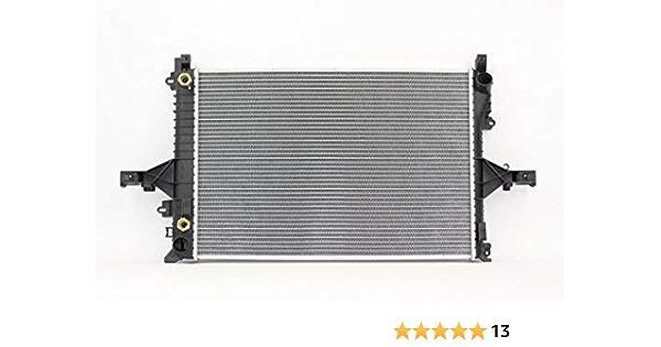 TYC 2805 Compatible with Volvo S60 1-Row Plastic Aluminum ...