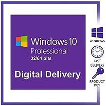 Windows 10 Pro original   1PC   La clave de producto y el enlace de descarga se enviarán por correo electrónico o mensaje de Amazon.