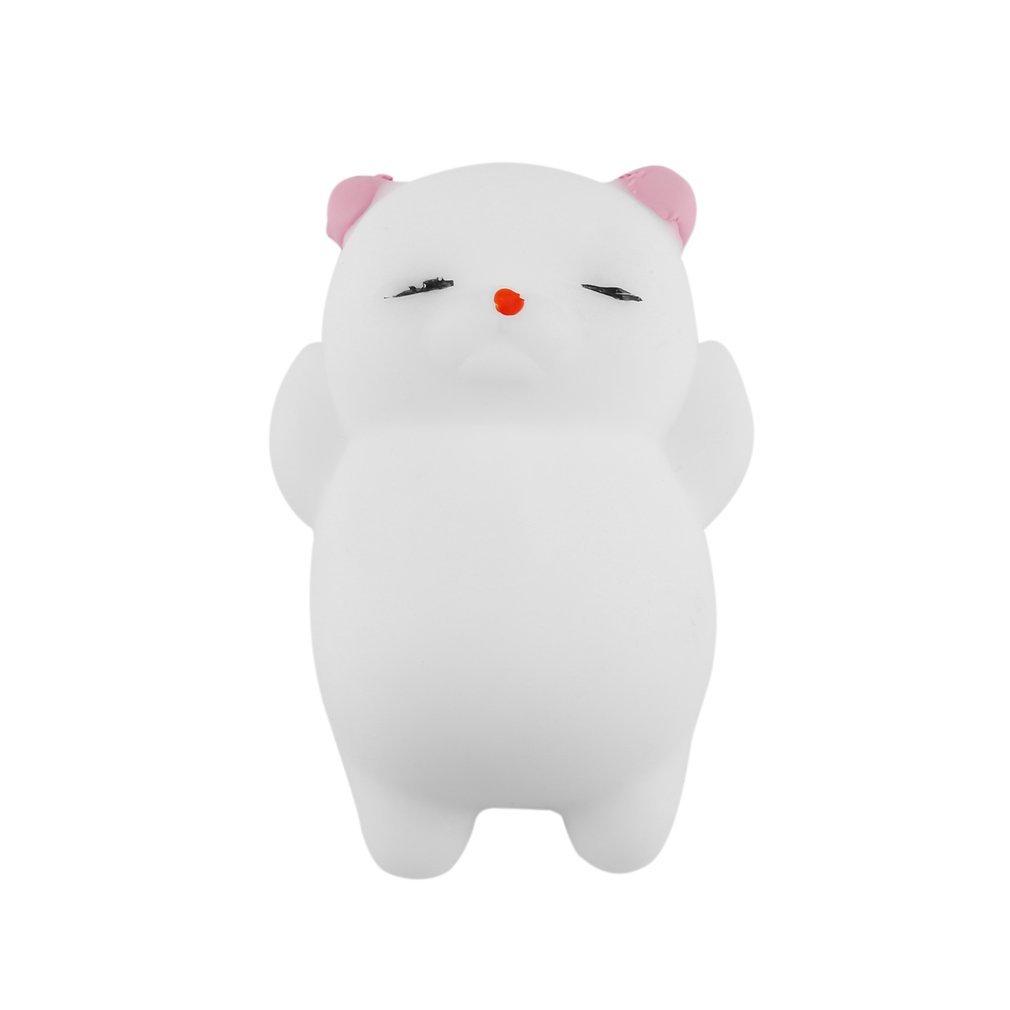 Kawaii Stress Relief Spielzeug PU Simulation Katze Slow Rising Spielzeug mit Duft Nettes Anti-Stress Dekompression Mochi Spielzeug fü r Kinder und Erwaschsene Newin Star