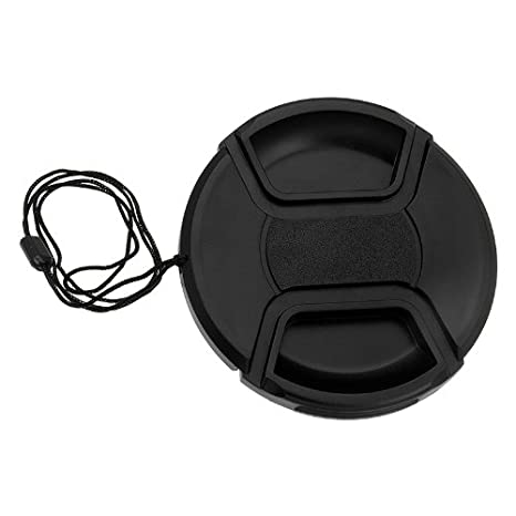 Fotodiox 77mm Inner-Pinch Lens Cap with Cap Keeper 05CAPT77x1