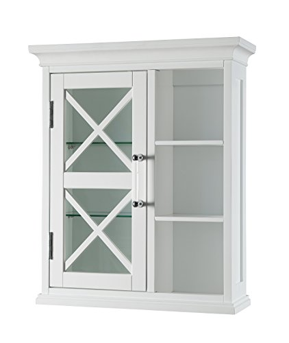 Elegant Home Fashions Champ Wall Cabinet with One Door & Cub