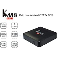 Edal KM8 PRO Amlogic S912 TV Box Octa Core Android 6.0 2G 8G TV BOX