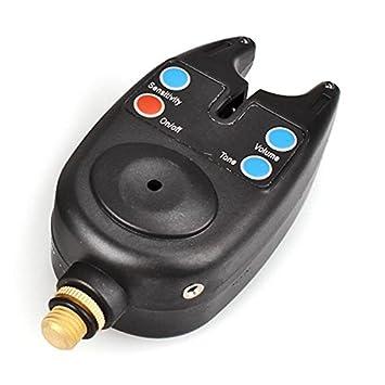 Avisador/Detector de picada con alarma acústica, para pescar carpas: Amazon.es: Deportes y aire libre