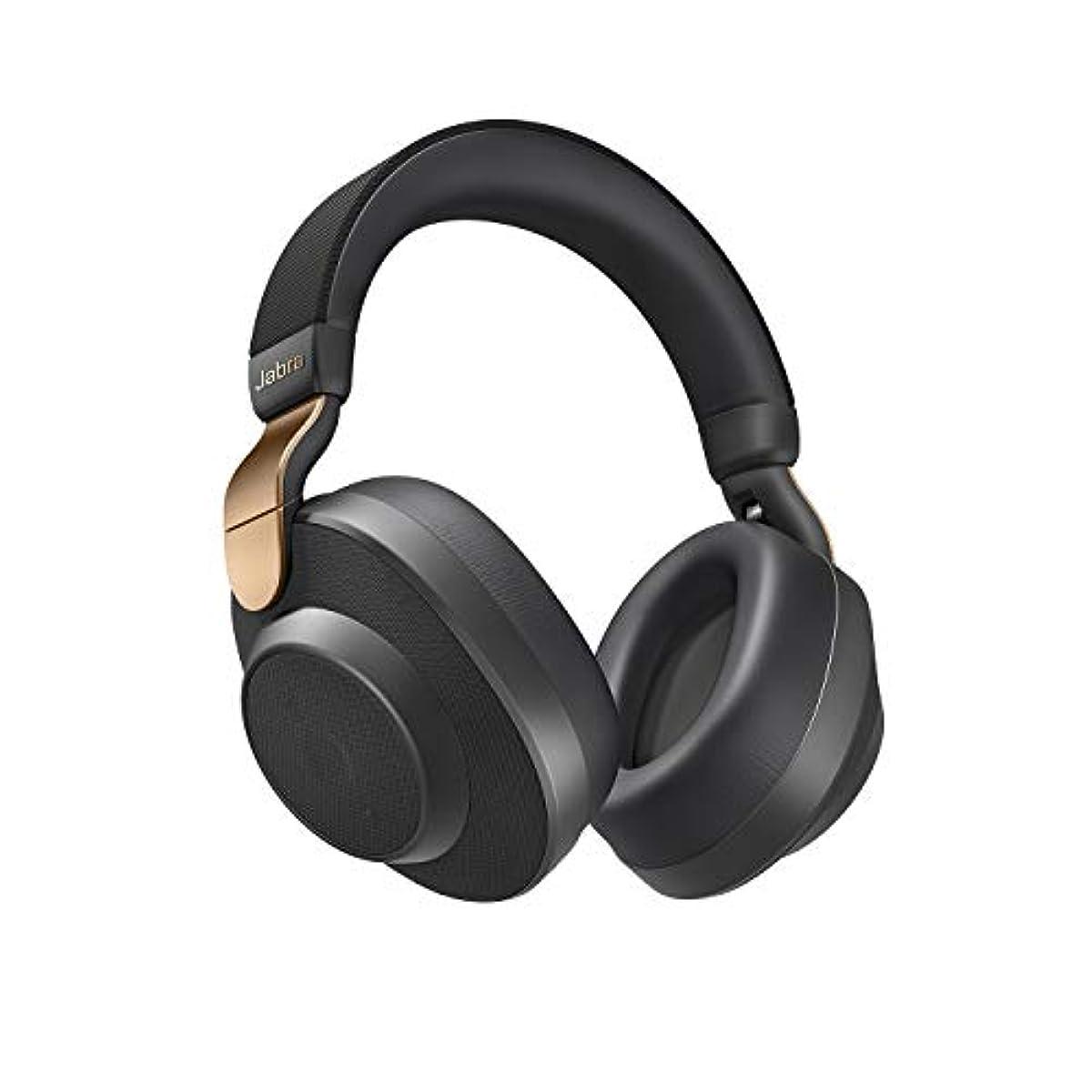 [해외] Jabra 무선 노이즈 캔슬링 헤드폰 Elite 85h 코퍼 블랙 Alexa 지원 BT5.0 AI 100-99030004-40-A