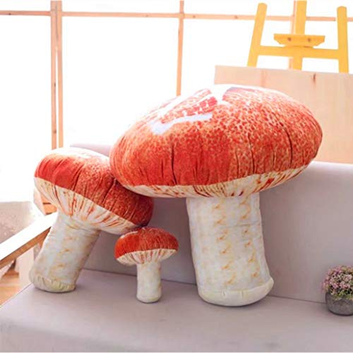 (Changsun Creative Vivid 3D Mushroom Pillow Gift Plush Toys (7