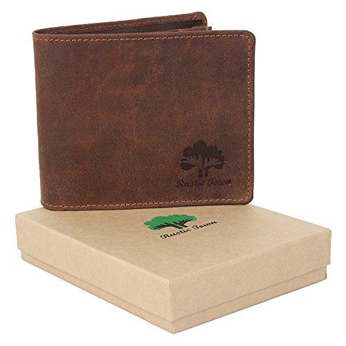 Kitchen Designer Jobs In Oman: Handmade RFID Blocking Genuine Leather Bifold Zippered Wallets With Coin Pocket Designer