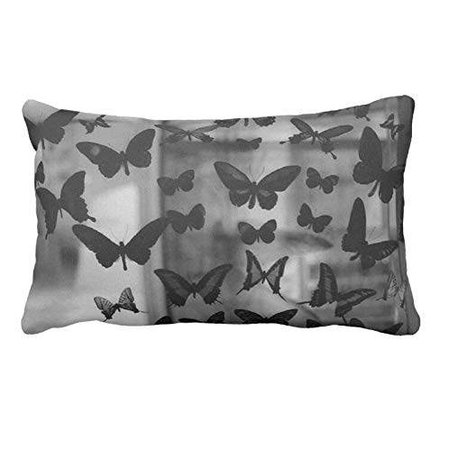 AoLian CYW Animal Wallpaper Butterfly Pillow Case 19.67 X 29.6 in