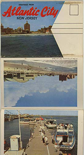 Atlantic City New Jersey - 1959 Colourpicture Souvenir Postcard Folder