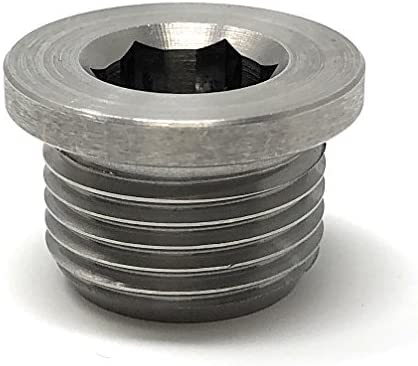O2 Oxygen Sensor Plug (Stainless Steel) M18 x 1 5 Metric Threading