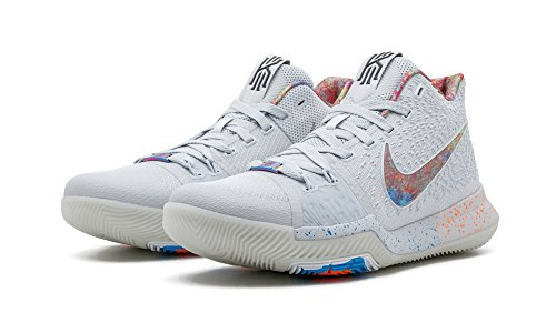 Nike Kyrie 3 Promo Ren Platina / Flerfärgade