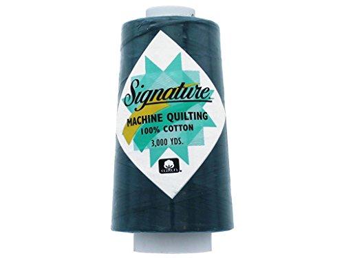 - Signature Thread Signature Ctn 3000yd Grn 100% Cotton Quilt Thread 3000 Mallard Green