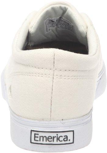 Emerica REYNOLDS CRUISER FUSION 6102000063 - Zapatillas de deporte de cuero unisex Blanco