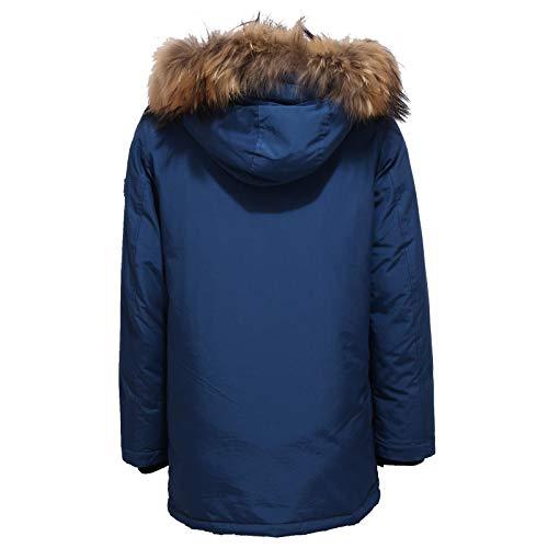 Bimbo Parka Blu Woolrich Piumino 6386x Boy Jacket Blue Detachabl qEw765