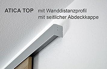 Puerta Corredera de madera sin marco roble salvaje 755 X 2035 mm, completo con Distancia de Pared Perfil: Amazon.es: Bricolaje y herramientas