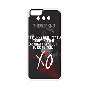 "D-PAFD Cover Shell Phone Case The Weeknd XO For iPhone 6 Plus (5.5"")"