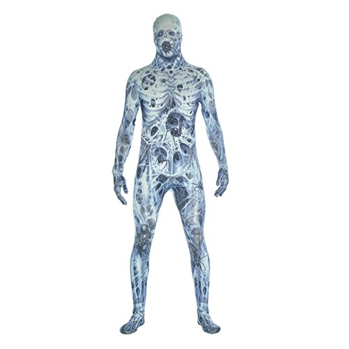 Morphsuits Men's Arachnamania Monsters Fancy Dress Costume-Size Xlarge-180 to 186cm, Arachnomania, -