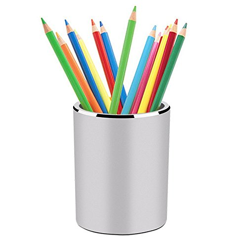 Modern Pencil Pen Holder , Multi Purpose Stationery Supplies Drawer Organizers for Home School Office , Makeup Brush Cup Containers
