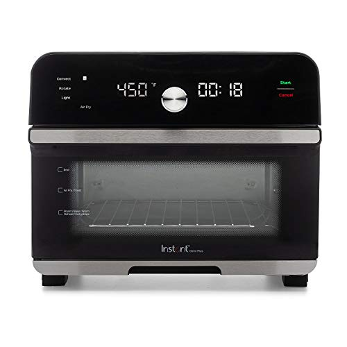Instant Omni Plus 10-in-1 Air Fryer Toaster Oven Combo, Rotisserie Oven, Deep Fryer, Oil-less Mini Cooker, Convection…
